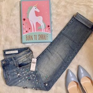 Anthropologie Pilcro Hyphen Ankle Jeans 26 / 2
